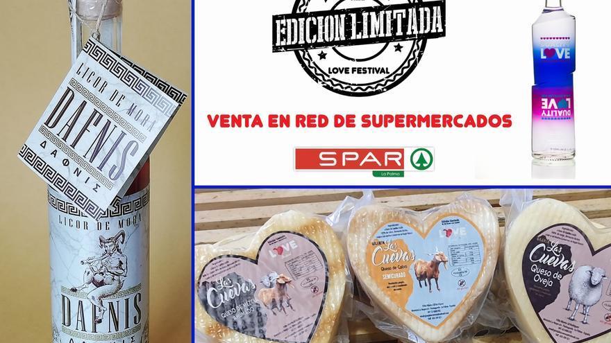El licor de mora 'Dafnis' se une a los productos exclusivos del ¡Love Festival'.