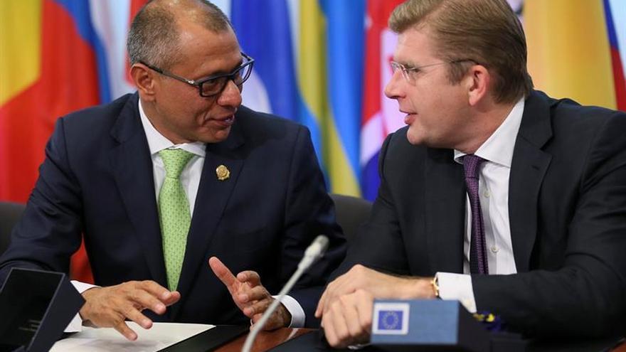 El vicepresidente de Ecuador: el acuerdo con la UE impulsará oportunidades de desarrollo