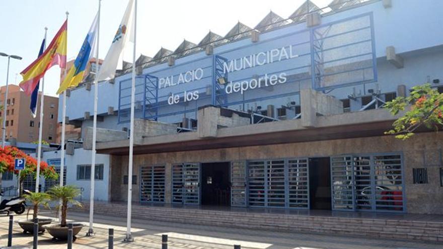 Palacio Municipal de Deportes de Santa Cruz de Tenerife.