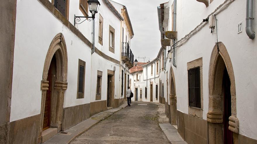 Valencia de Alcántara Cáceres Judería Barrio medieval
