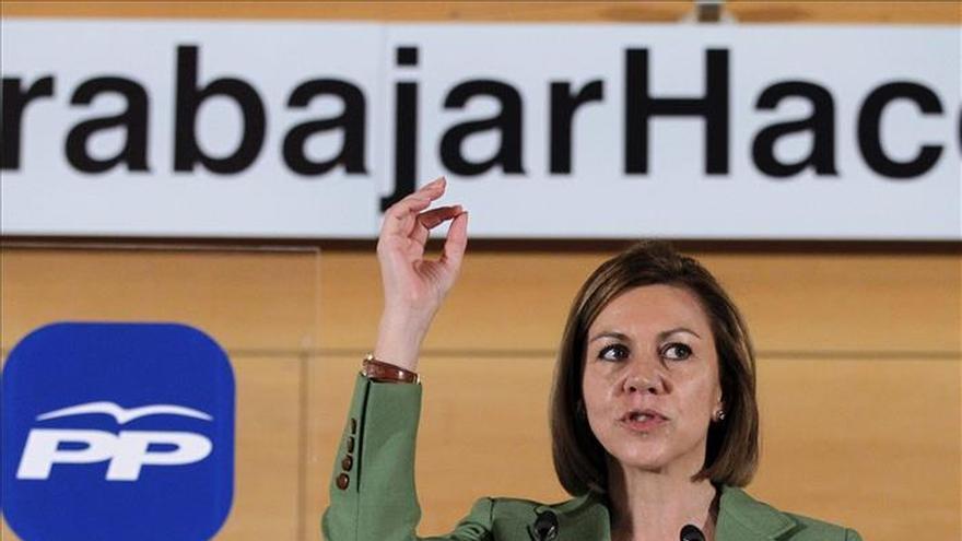 """Cospedal pide a los gobiernos autonómicos que aprovechen """"la ola de crecimiento"""""""