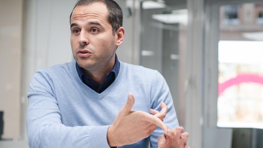 Ignacio Aguado, líder de Ciudadanos en la Comunidad de Madrid. / David Conde