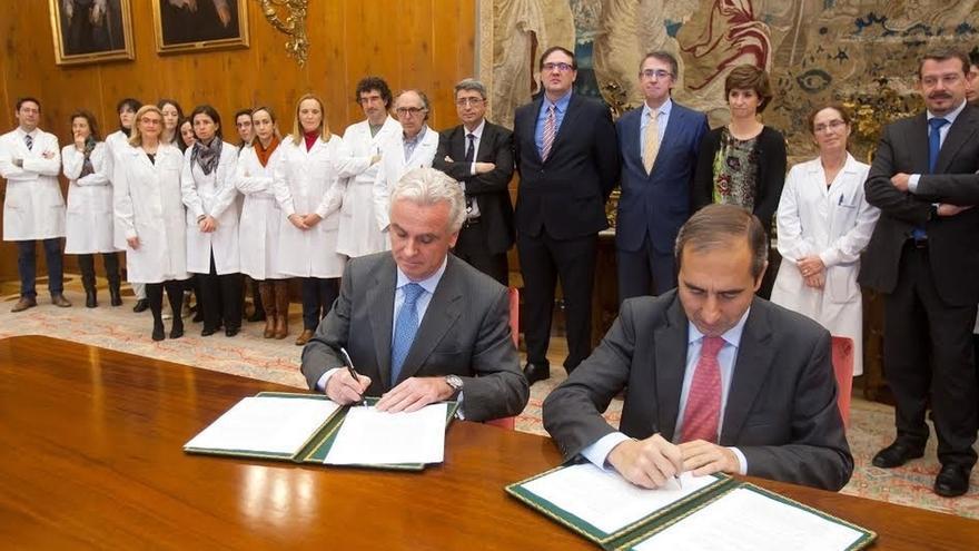 Viscofan y la Universidad de Navarra firman un acuerdo para colaborar en la investigación en nutrición