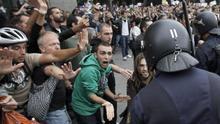Imagen de archivo de la protesta del 25S en los alrededores del Congreso de los Diputados.
