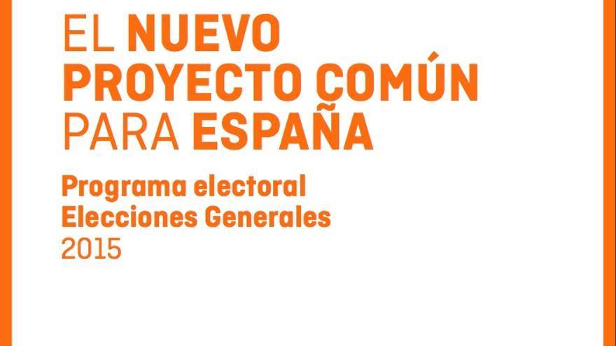 Programa electoral Ciudadanos
