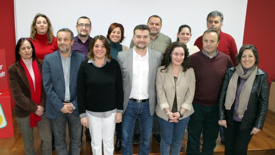 Candidatos de IU a las autonómicas andaluzas.