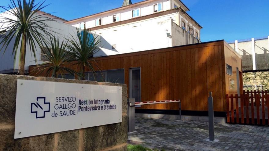 Instalaciones del Hospital Provincial de Pontevedra, uno de los centros del CHOP