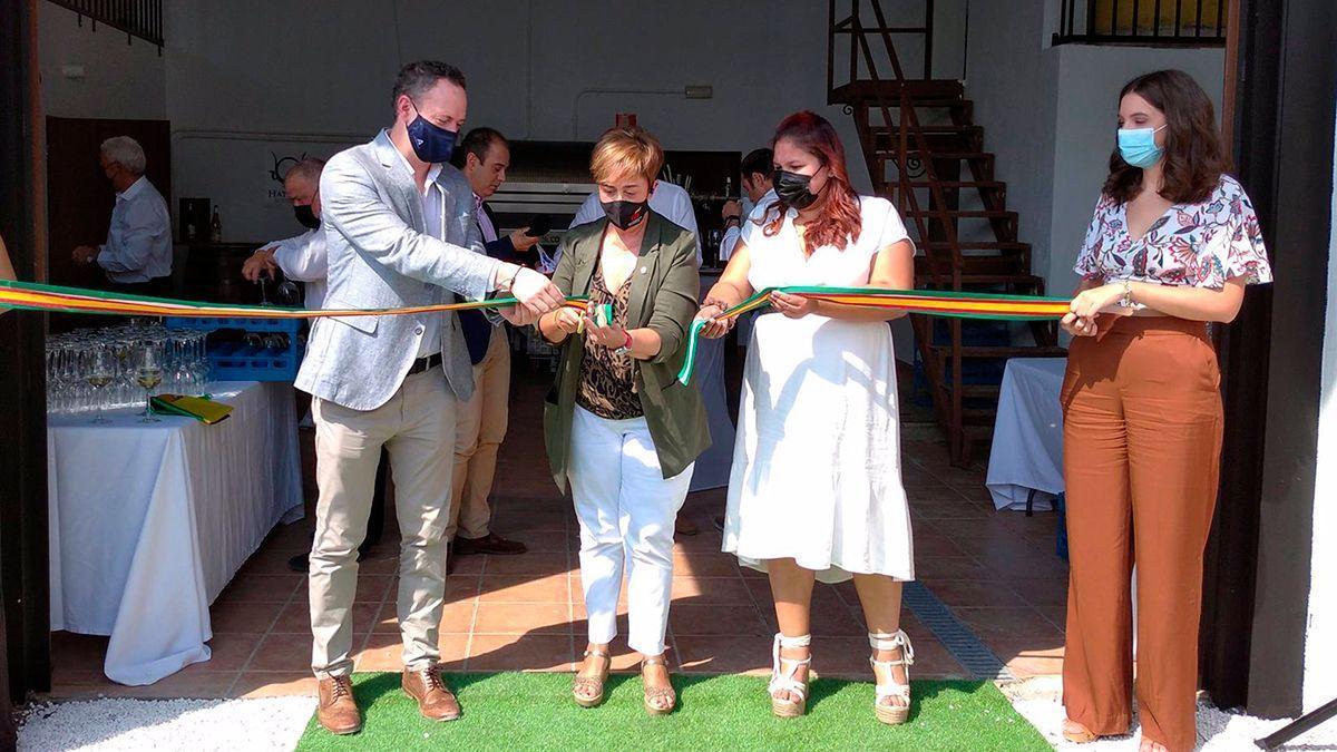 Inauguración de la bodega en Moriles
