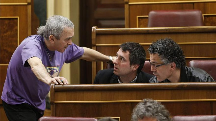 El Constitucional no admite el recurso de Amaiur contra la decisión que le dejó sin grupo