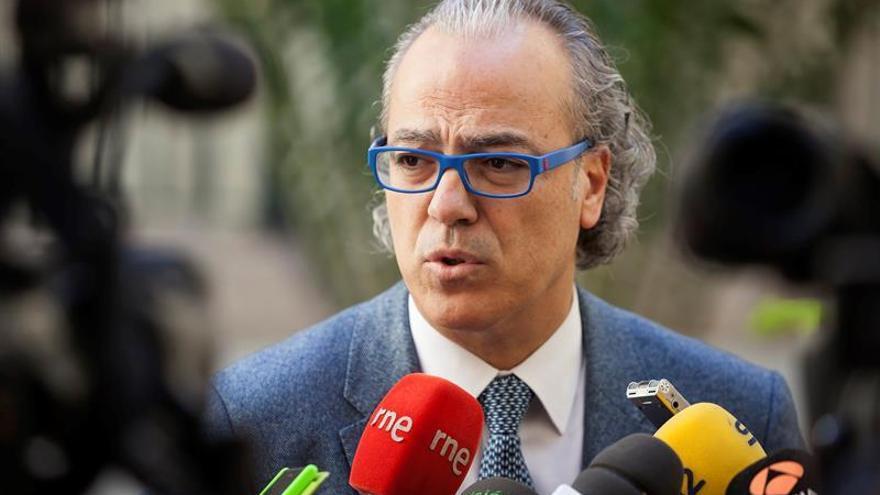 El consejero de Sanidad del Gobierno de Canarias, Jesús Morera