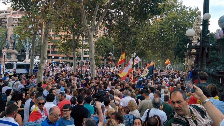 """El PP pide a Cs explicar la agresión y la """"simbología nazi"""" de la movilización del miércoles"""