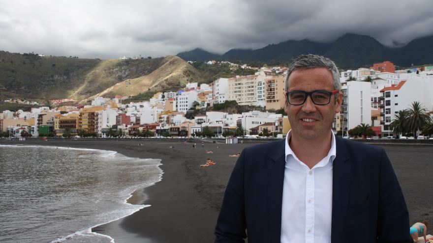 Sergio Matos, alcalde de Santa Cruz de La Palma.
