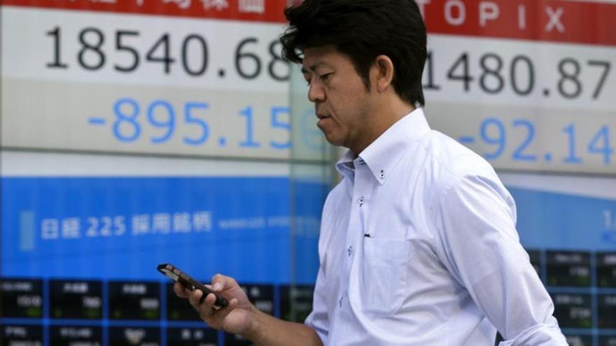 La Bolsa de Shanghái abre con una subida del 0,44 %