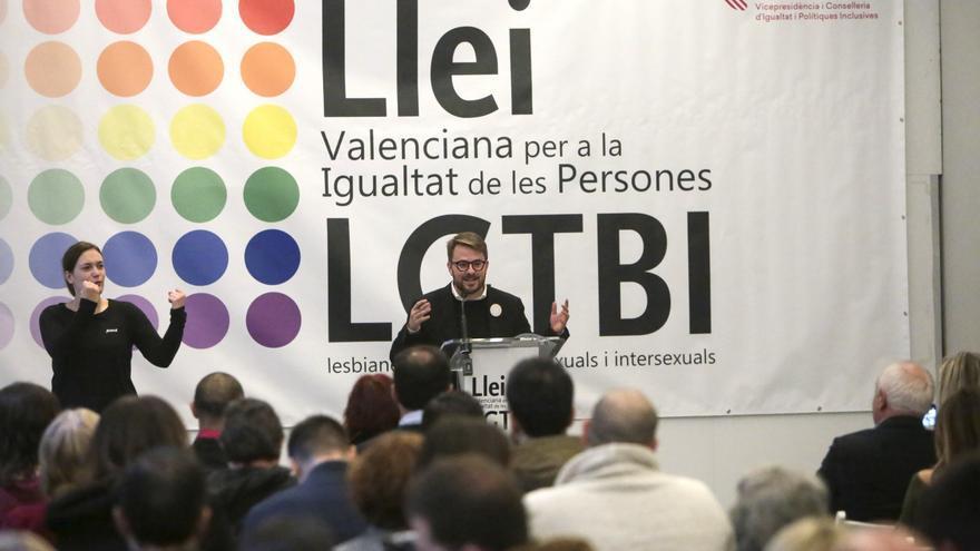 El secretario autonómico de Inclusión y de la Agencia Valenciana de la Igualdad, Alberto Ibáñez