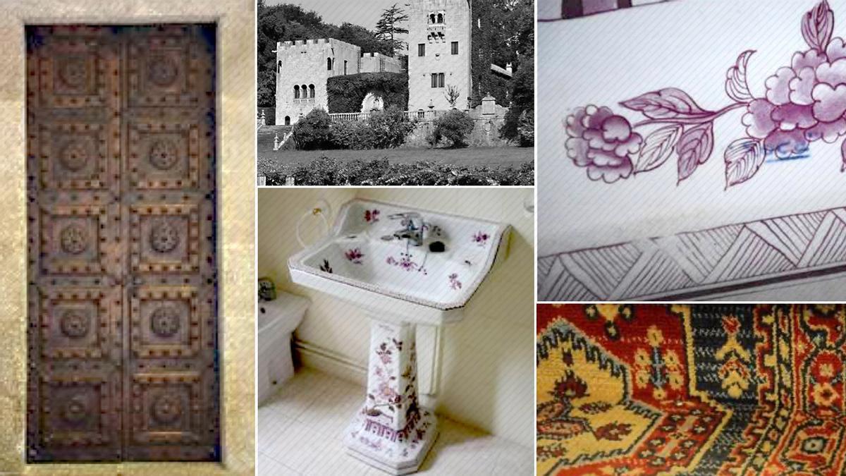 Imagen de algunos de los bienes que la familia Franco reclama llevarse de Meirás