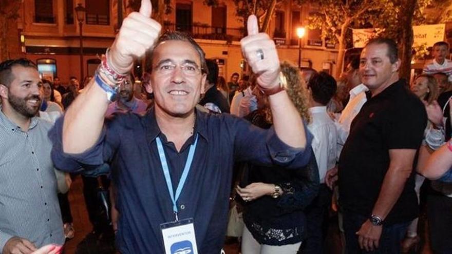 El exalcalde de Gandía, Arturo Torró (PP)