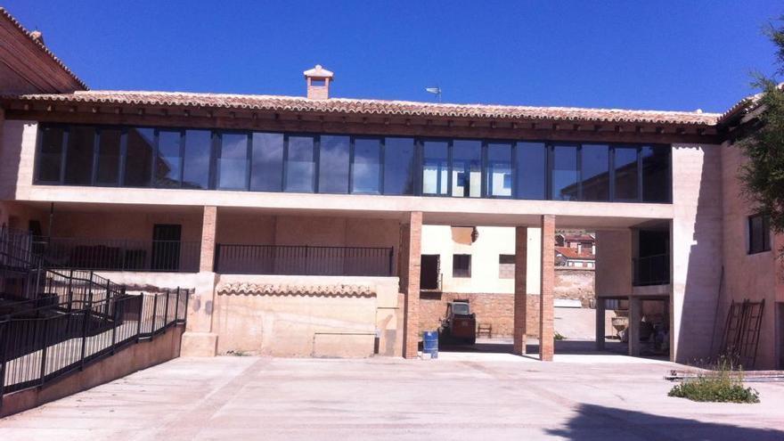 El antiguo convento de las Capuchinas en Gea de Albarracín se ha habilitado como residencia para 59 personas con discapacidad.