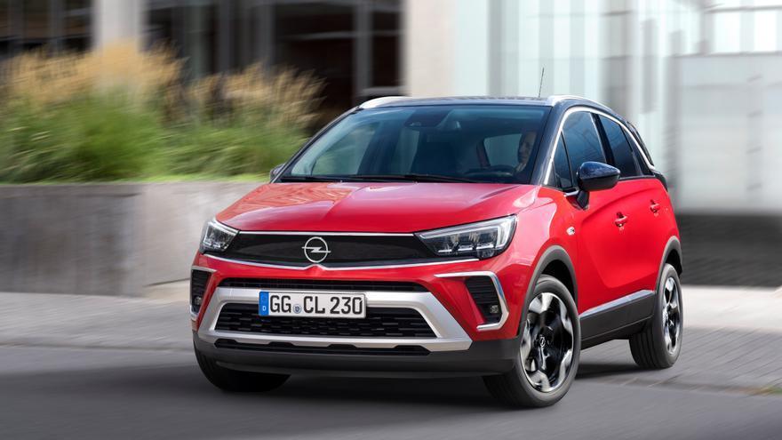 Nuevo Opel Crossland, ahora más atractivo y eficiente