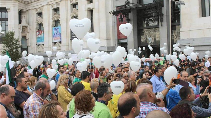 Cientos de personas reclaman una ley que fije la custodia compartida