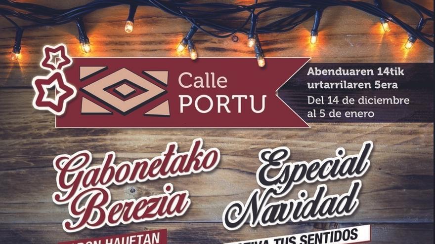 La calle Portu de Barakaldo se llenará de actividades 'creativas' durante esta Navidad