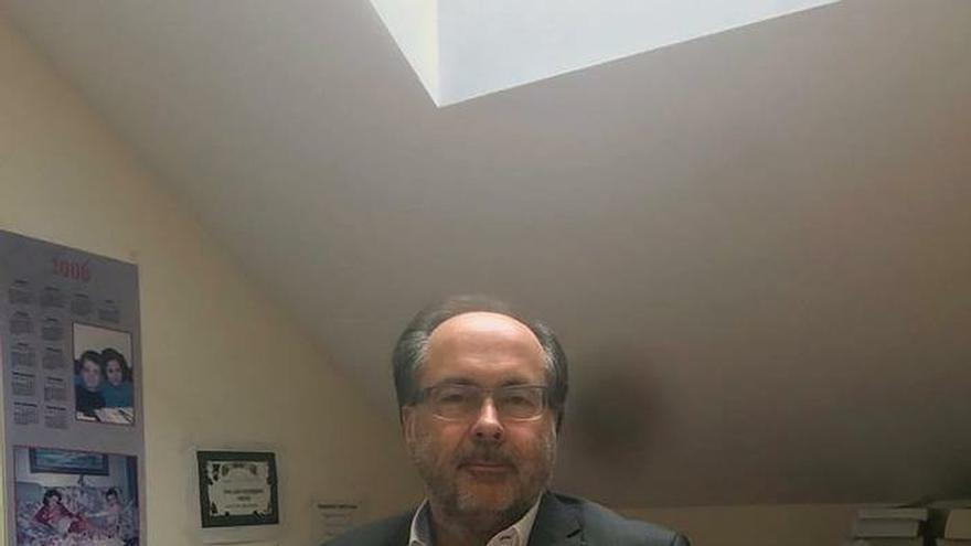Fotografía facilitada por el propio Jesús Dacio Arteaga, fiscal que trabaja desde hace casi 30 años y secretario de la Unión Progresista de Fiscales (UPF).