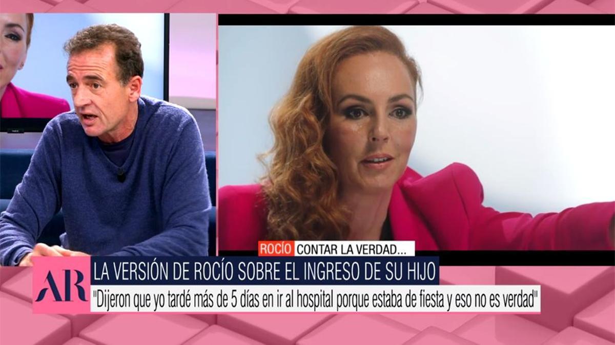Alessandro Lecquio, en 'El programa de Ana Rosa'