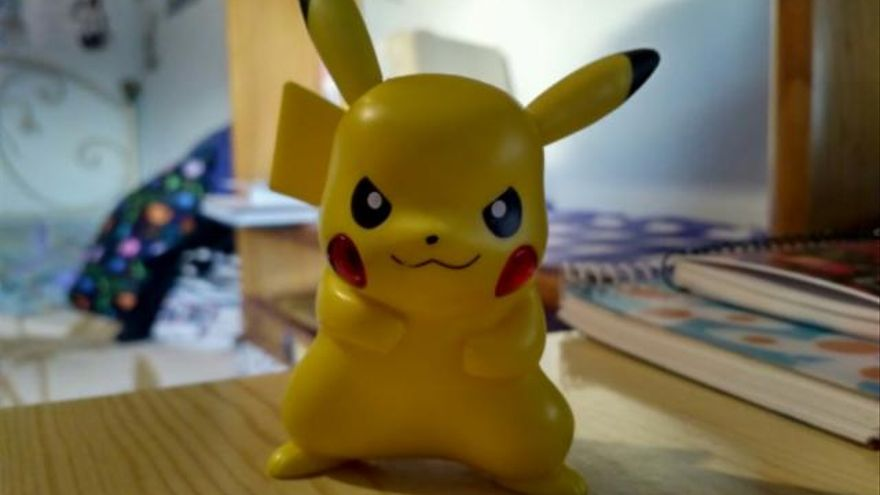 La figura de Pikachu regalada por McDonald's, una de las estrellas de Walllapop