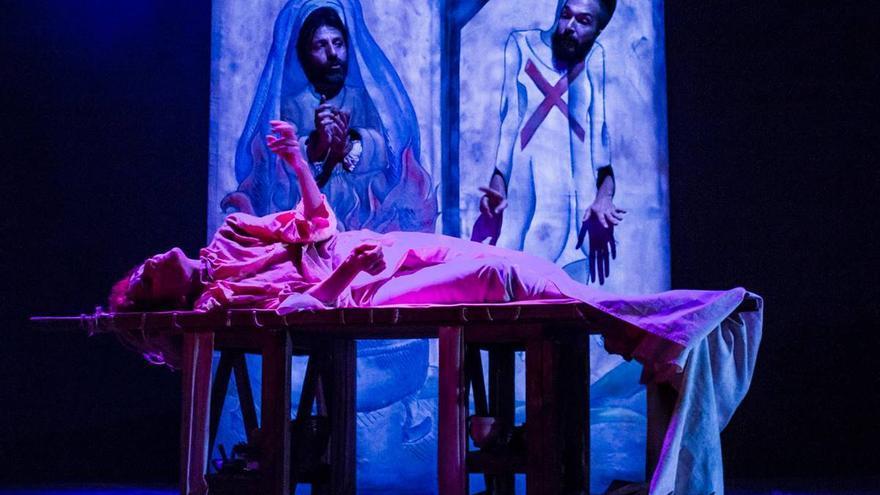 Llega al teatro la historia de la primera española que consiguió el divorcio tras denunciar malos tratos hace cuatro siglos
