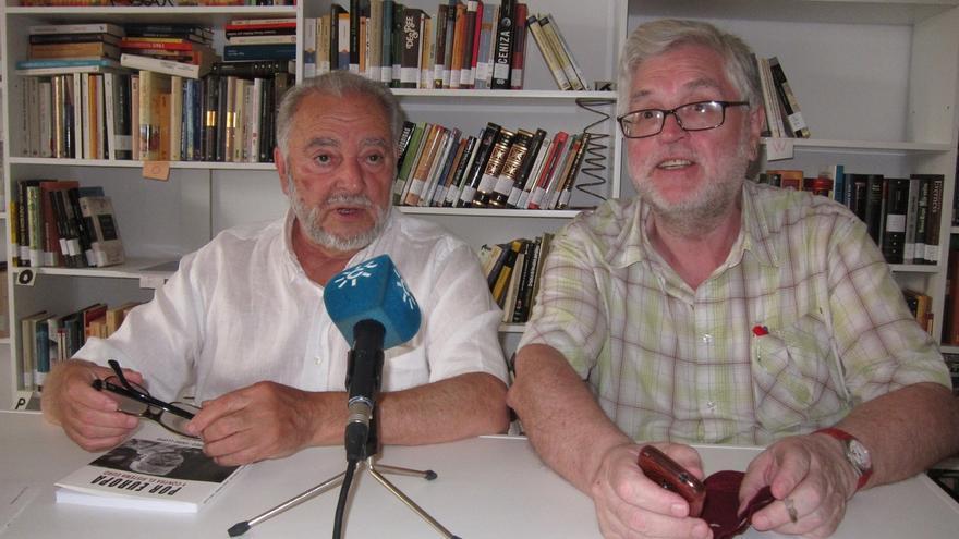 Julio Anguita y Manolo Monereo.