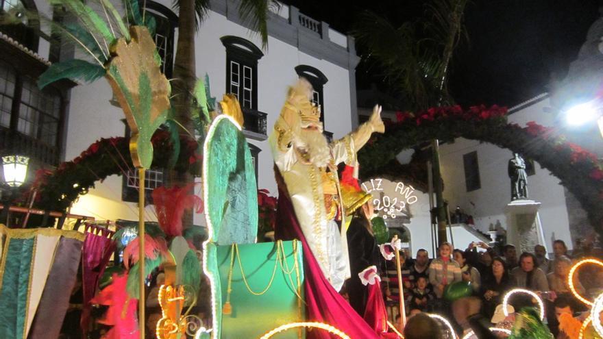 En la imagen Cabalgata de Reyes de la capital de ediciones anteriore. Foto: LUZ RODRÍGUEZ