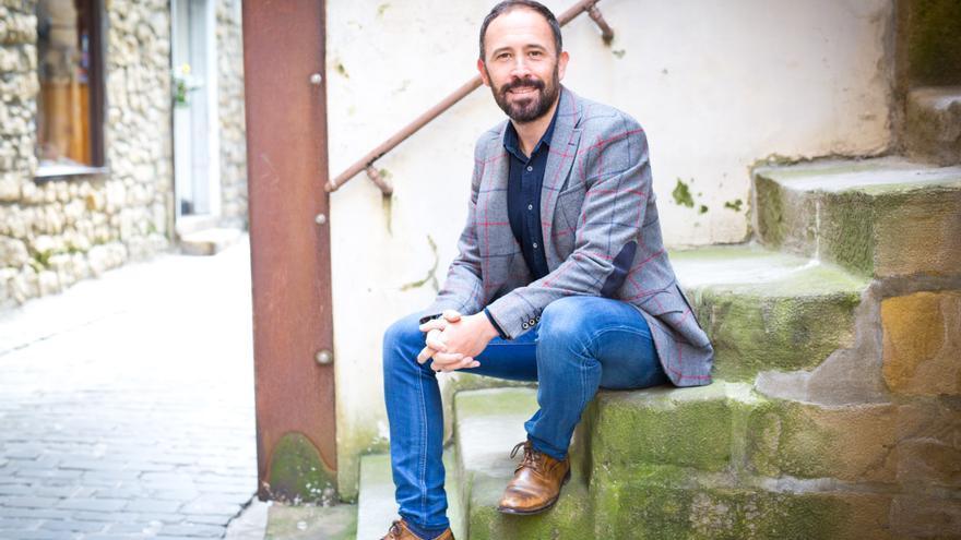 Denis Itxaso, candidato socialista a la Diputación de Gipuzkoa