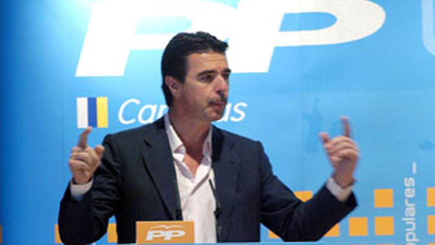 José Manuel Soria, consejero de Economía y Hacienda en la fecha de la orden de ejecución judicial de 27 de mayo.