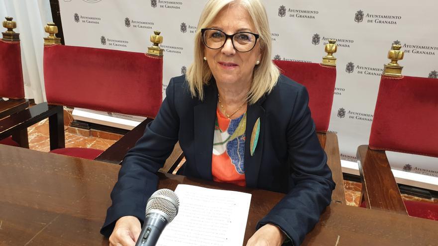 Archivo - La concejal del Ayuntamiento de Granada María de Leyva en una imagen de archivo.