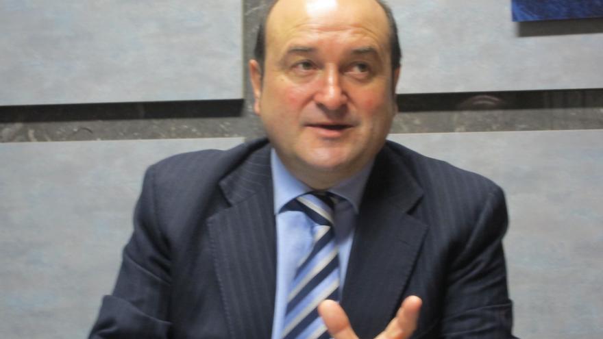 """Ortuzar (PNV), """"moderadamente optimista"""" sobre la posibilidad de alcanzar un acuerdo en materia fiscal"""