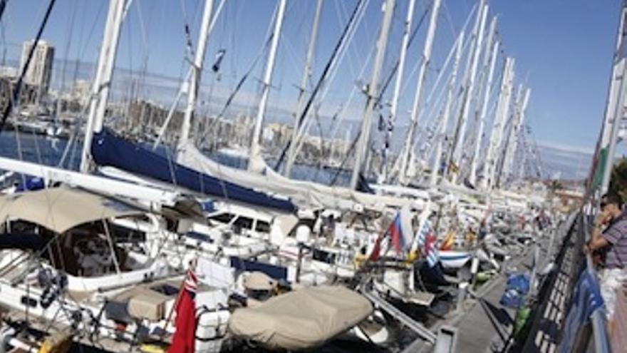 Imagen del Muelle Deportivo con las embarcaciones. (Acfi Press)
