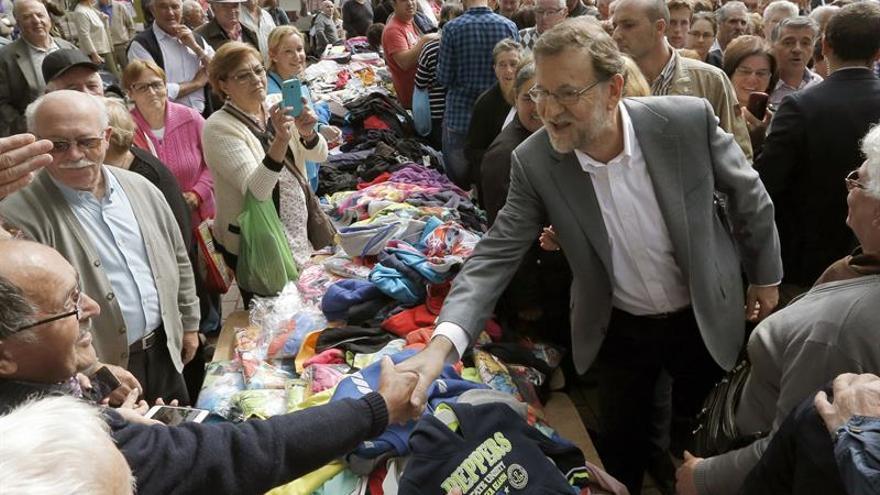 """Rajoy confía en el """"buen sentido"""" de la gente para que Feijóo sea presidente"""