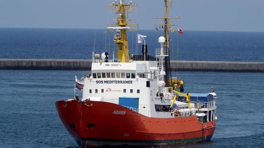 Investigan en Italia a personal de MSF e inmovilizan el Aquarius por residuos