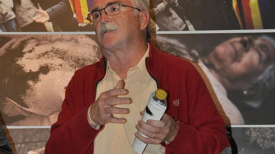 El presidente de la Asociación Pozos de Caudé, Francisco Sánchez.