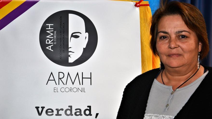 Ana García Pérez, víctima del franquismo.   JUAN MIGUEL BAQUERO