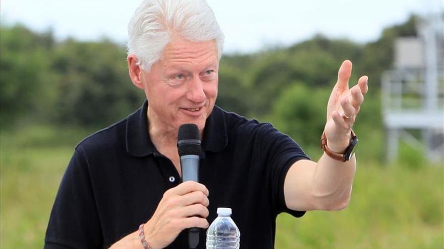 Clinton se reunió con el alcalde de Lima y renovó compromiso con el cambio climático