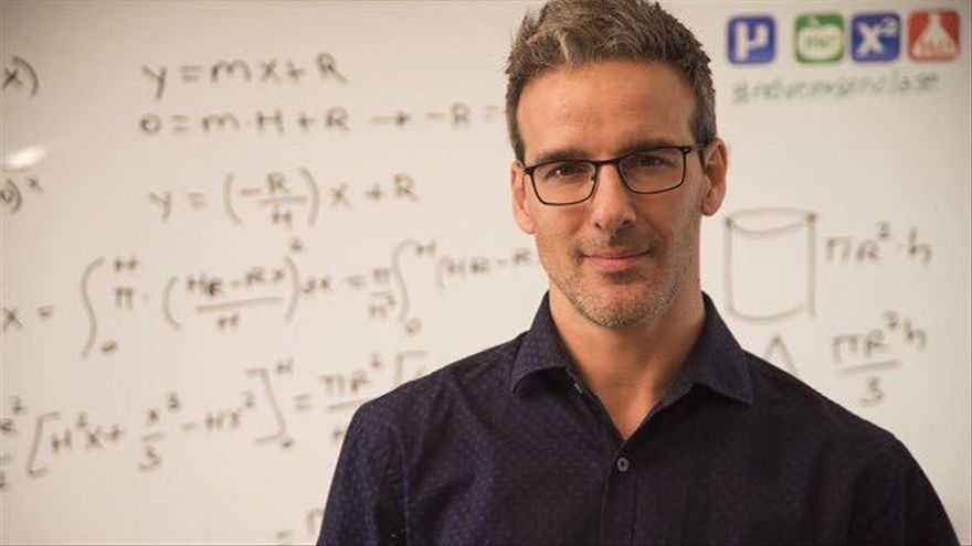 David Calle, el profesor youtuber