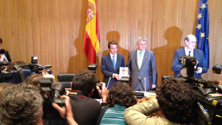 Aznar y Posada. / Gonzalo Cortizo