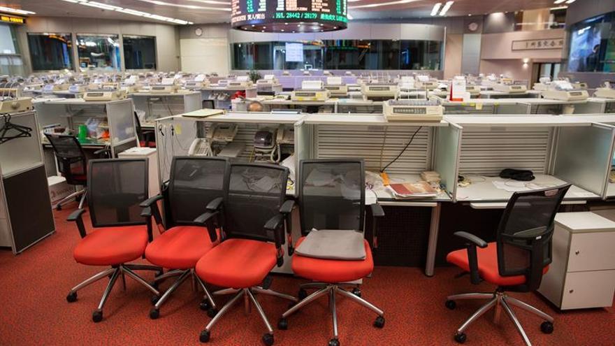 La Bolsa de Hong Kong abre con un ligero retroceso del 0,07 por ciento