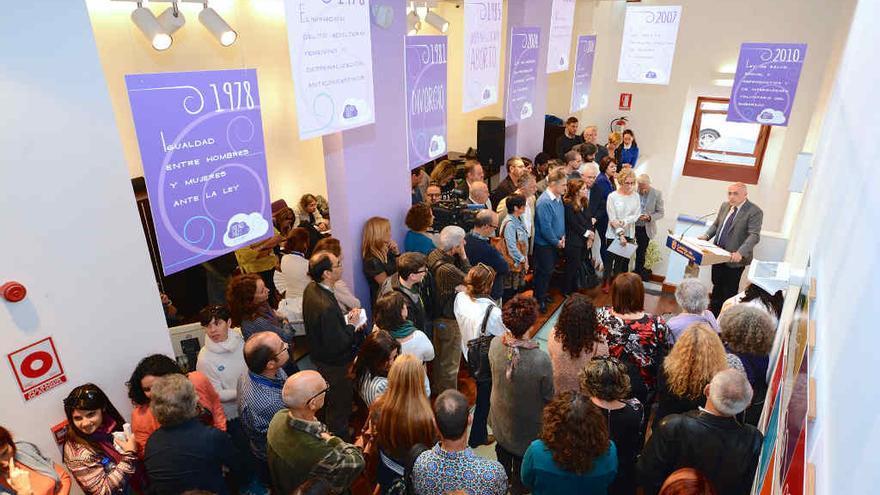 Inauguración de la sede de la Consejería de Igualdad del Cabildo de Gran Canaria