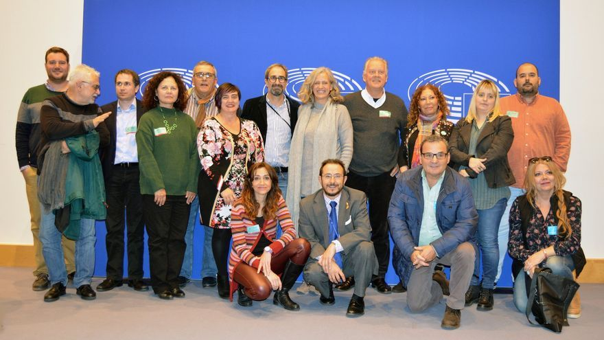 Miembros de Compromiso por Europa en el Parlamento Europeo.