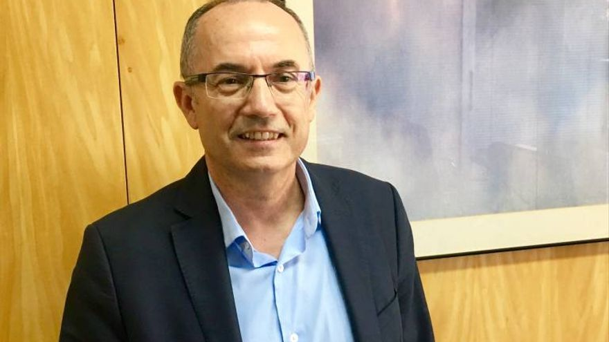 Juan Vicente Climent, gerente de la Universitat de València.