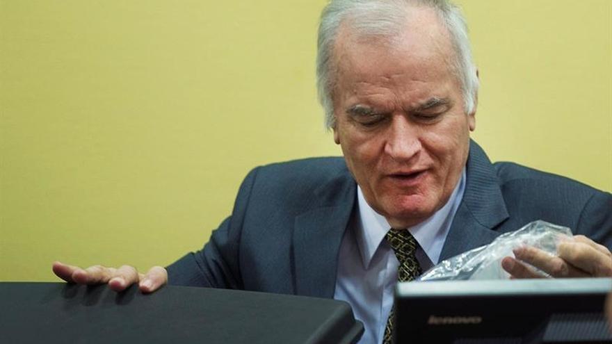 """Los fiscales del TPIY consideran a Mladic la """"máxima autoridad"""" del genocidio"""