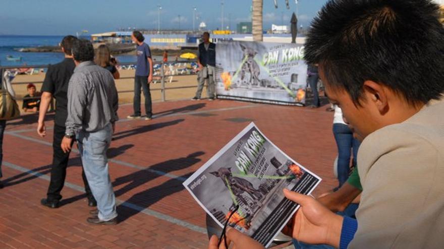 De la protesta en Las Canteras #3