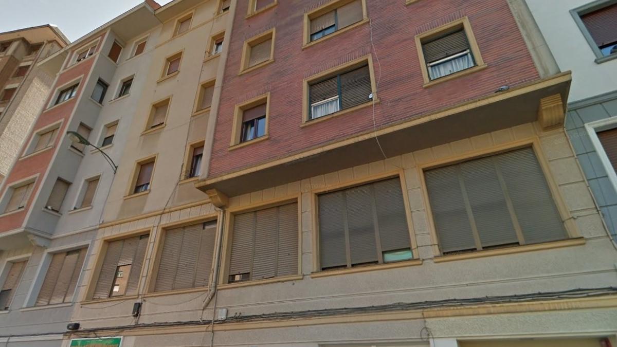 Fachada del edificio propiedad del Obispado en Bilbao