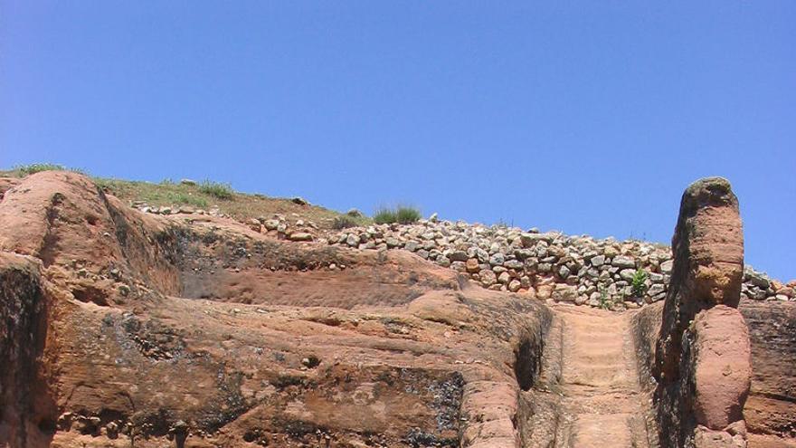 Restos romanos de Tiermes. Samu